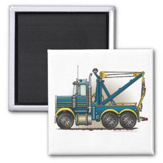 Blue Tow Truck Wrecker Magnets