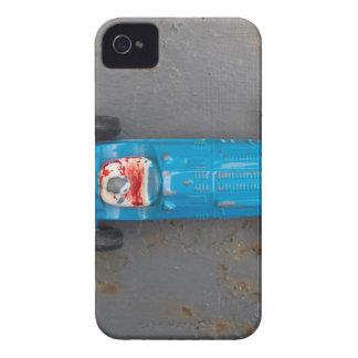 Blue toy car iPhone 4 case