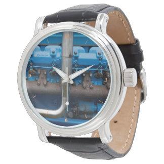 Blue Tractor Motor Watch