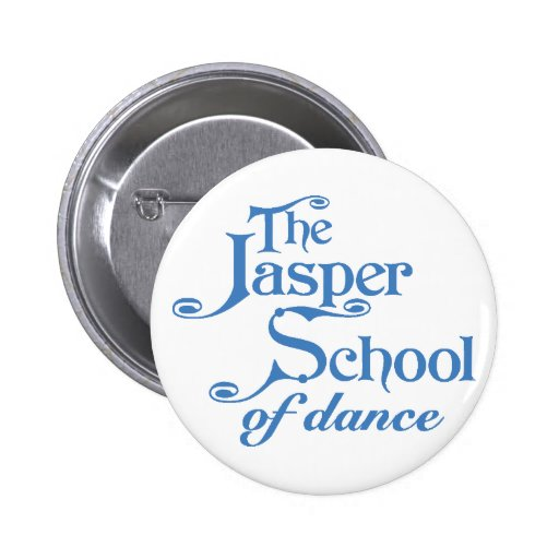 Blue Traditional Logo Button