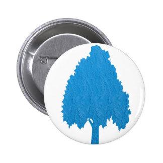 Blue Tree Acrylic Symbolic ART NVN38 navinJOSHI 6 Cm Round Badge