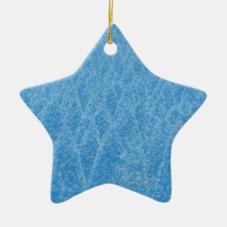 blue tree ceramic star decoration