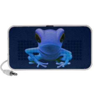 Blue Tree Frog Portable Speakers