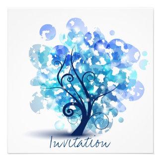 Blue Tree Invite