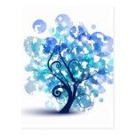 Blue Tree Postcards