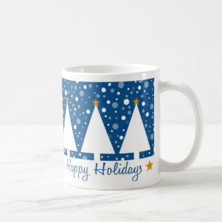 Blue Trees Holidays - Mug
