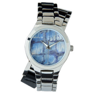 Blue Trellis Watch