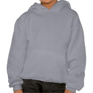 Blue Triangle Logo Kid's Hooded Sweatshirt