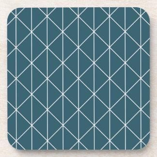 blue triangles coaster