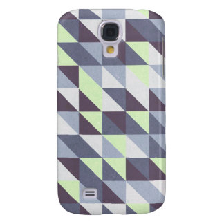 Blue Triangles Galaxy S4 Covers