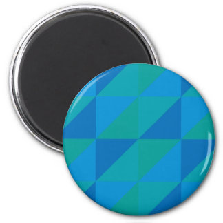 Blue Triangles Magnet