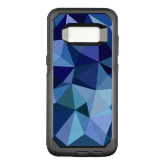 Blue triangles OtterBox commuter samsung galaxy s8 case