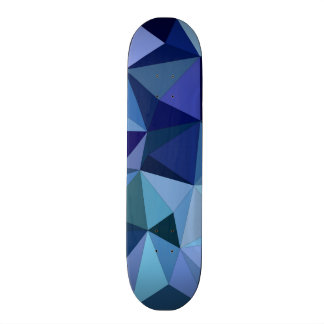 Blue triangles skate boards