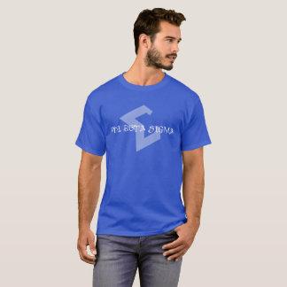 Blue Tribal Sigma shirt