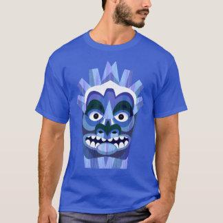 Blue Tribal Tiki Beachcomber T-Shirt