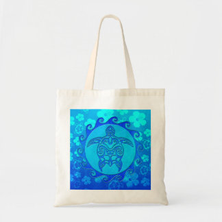 Blue Tribal Turtle Sun