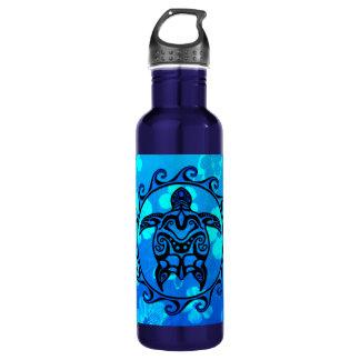 Blue Tribal Turtle Sun 710 Ml Water Bottle