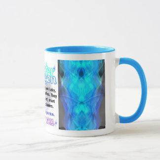Blue trin Water Dragon large 1952 2012 Mug