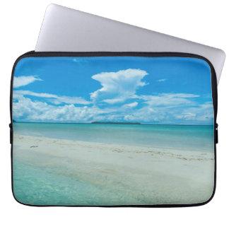 Blue tropical seascape, Palau Laptop Sleeve