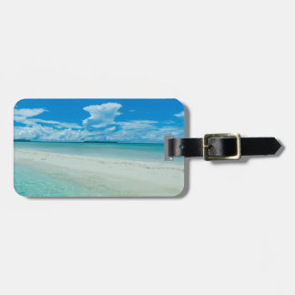 Blue tropical seascape, Palau Luggage Tag