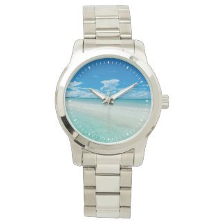 Blue tropical seascape, Palau Wristwatch