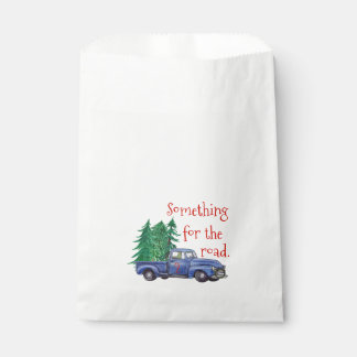 Blue Truck Party Favour Bag - Editable Age and