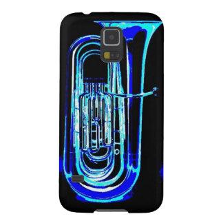 Blue Tuba Galaxy S5 Cover