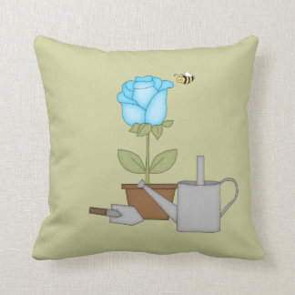 Blue Tulip Cushion
