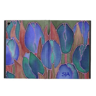 Blue Tulips Design iPad Air Case