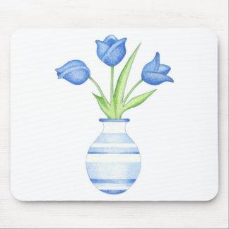 Blue Tulips Mousepad