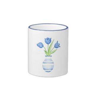 Blue Tulips Mug