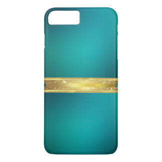 Blue Turquoise Texture iPhone 7 Case