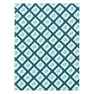 Blue Turtle Tablecloth