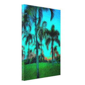 Blue Twilight - Painting Canvas Print