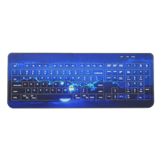 Blue Twilight Wireless Keyboard