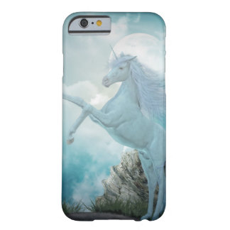 blue unicorn barely there iPhone 6 case