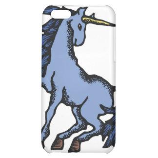Blue Unicorn iPhone 5C Cases