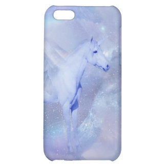 Blue Unicorn with wings fantasy Cover For iPhone 5C