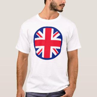 Blue Union Jack Roundel T-Shirt