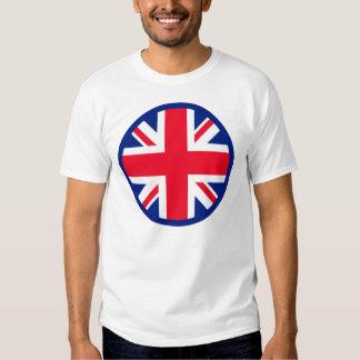 Blue Union Jack Roundel Tee Shirts