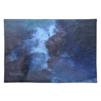 """BLUE UNIVERSE ABSTRACT"""" PLACEMAT"""