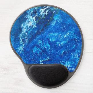 Blue Universe Gel Mouse Pad