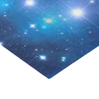 Blue Universe Stars + your ideas Tissue Paper