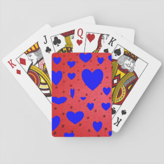Blue Valentines Playing Cards