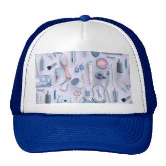 Blue Vanity Table Cap