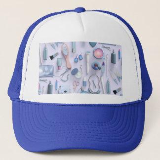 Blue Vanity Table Trucker Hat