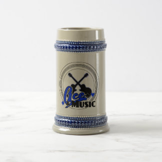 Blue Variant Logo Stein 18 Oz Beer Stein