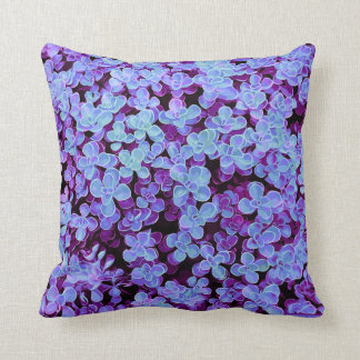 Blue Velvet Hedge - Flower Surface Texture Cushion