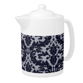 Blue Velvet Teapot