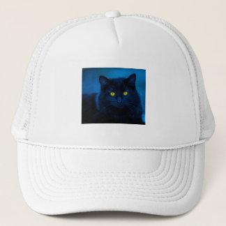 Blue Velvet Trucker Hat